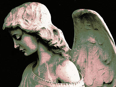 Angel 4 Art Print by Maria Huntley