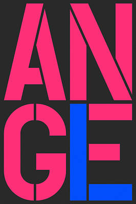 Angel-9 Art Print