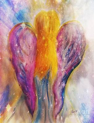 Painting - Angel Abstract by Maria Urso