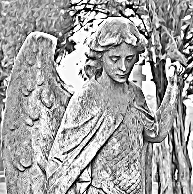 Photograph - Angel Altered by Catherine Hill