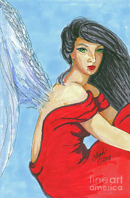 Painting - Angel Among Us by Lorah Buchanan