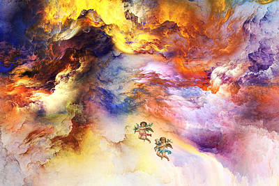 Clous Painting - Angel by An hy Quach hong