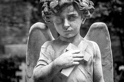 Photograph - Angel And Cross by Sonny Marcyan
