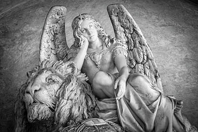 Photograph - Angel And Lion by Sonny Marcyan