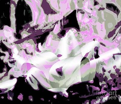 Angel And Trumpet Art Print