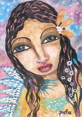 Mixed Media - Angel Art by Prerna Poojara