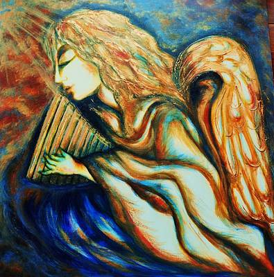 Painting - Angel Awakening by Rae Chichilnitsky