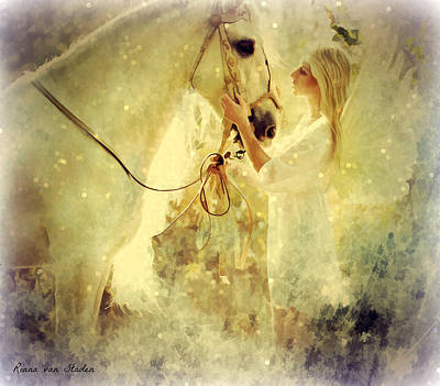 Digital Art - Angel Blessings  by Riana Van Staden