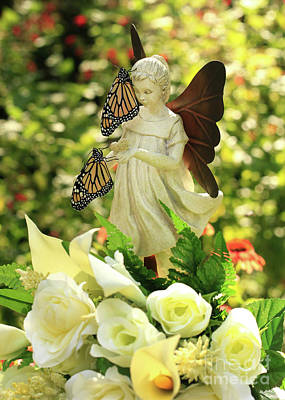 Photograph - Angel Butterfly Blessings Photo by Luana K Perez