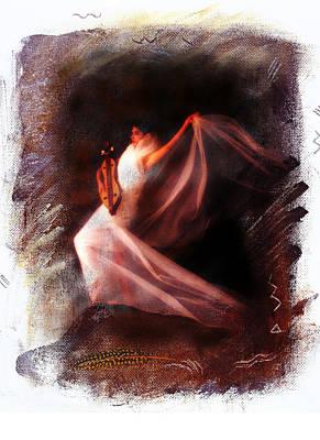 Ballet Angel Art Print