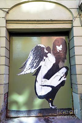 Photograph - Angel Door by John Rizzuto