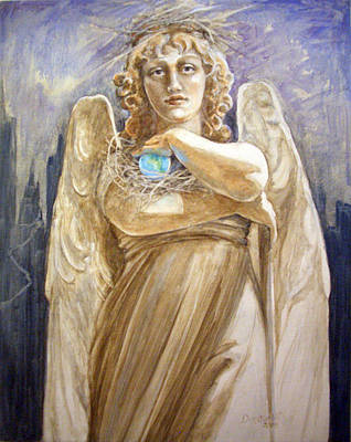 Painting - Angel Earth by Kathryn Donatelli