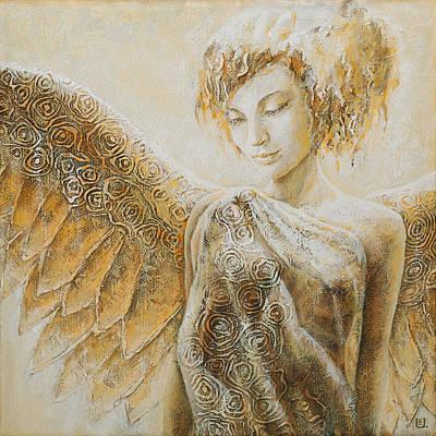 Art Nouveau Painting - Angel by Eurika Urbonaviciute
