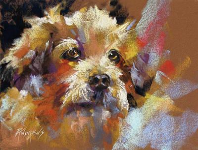 Painting - Angel Eyes by Rae Andrews
