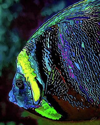 Digitally Manipulated Digital Art - Angel Face 3 by ABeautifulSky Photography by Bill Caldwell