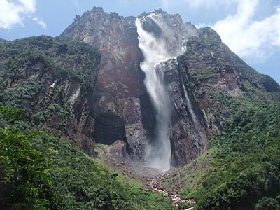 Fall Scenes Photograph - Angel Falls by By Neil Donovan.  Visit www.neildonovan.net for more.