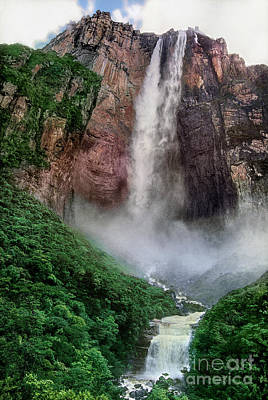 Photograph - Angel Falls Canaima National Park Venezuela by Dave Welling