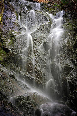 Photograph - Angel Falls Detail by Rick Berk