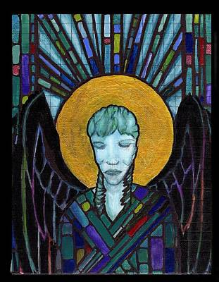 Painting - Angel Garbriel by Amy Shaw