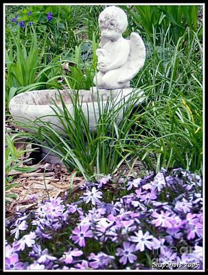 Angel Garden Art Print by Emily Kelley