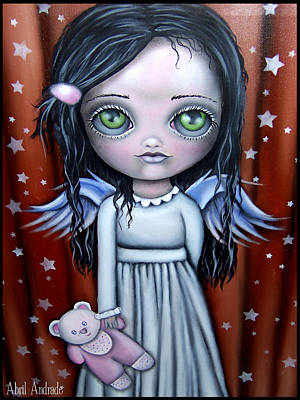 Angel Girl Art Print by  Abril Andrade Griffith