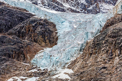 Photograph - Angel Glacier 2015 by Pierre Leclerc Photography