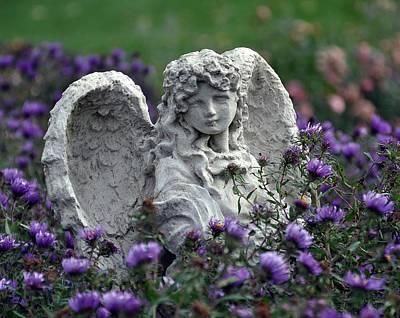 Angel Art Print by Gwen Allen