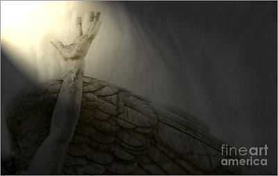Photograph - Angel Hand by Craig J Satterlee