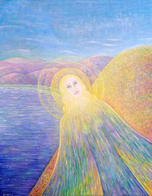 Angel Art Print by Hiske Tas Bain