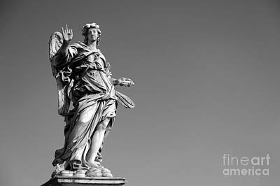 Angel In Rome Art Print