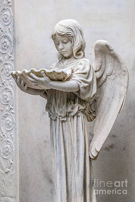 Photograph - Angel In The Cemetery At The Garden Of Good And Evil In Savannah 7525v by Doug Berry