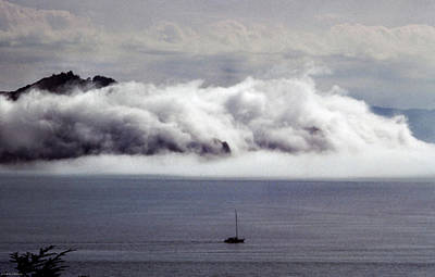 Photograph - Angel Island Fog by Frank DiMarco