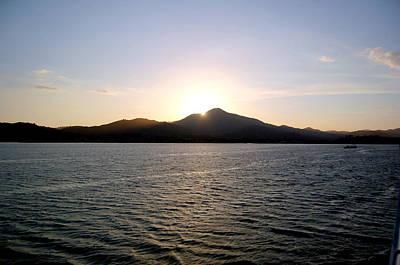 Photograph - Angel Island Sunset by Mia Alexander