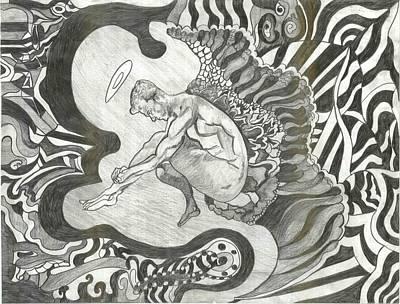 Angel Art Print by Joseph  Arico