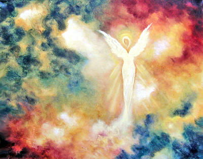 Painting - Angel Light by Marina Petro