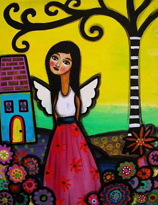 Painting - Angel Nilda by Pristine Cartera Turkus