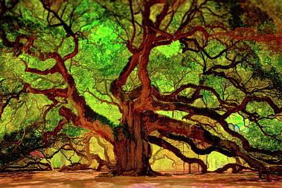 Photograph - Angel Oak Tree by Russ Harris