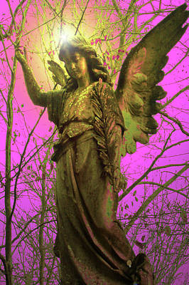 Seraphim Angel Mixed Media - Angel Of Bless No. 02 by Ramon Labusch