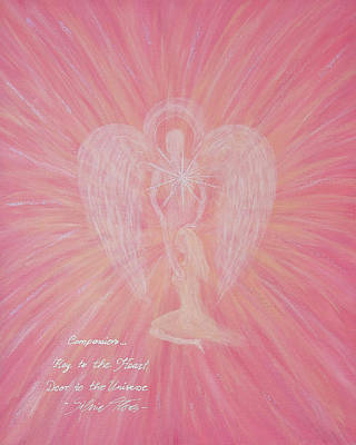 Angel Of Compassion Art Print