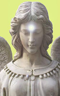 Seraphim Angel Mixed Media - Angel Of Devotion No. 12 by Ramon Labusch