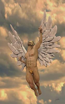 Angel Of Dulce De Leche Art Print