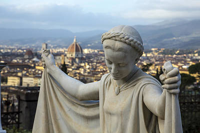 Photograph - Angel Of Firenze by Sonny Marcyan