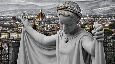 Photograph - Angel Of Florence by Sonny Marcyan