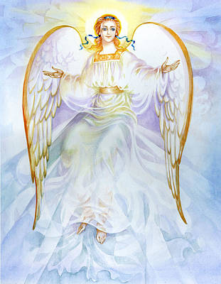 Painting - Angel Of Grace by Karen Showell