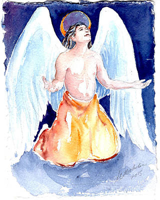 Painting - Angel Of Gratitude by Christie Michelsen