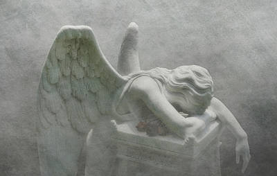 Photograph - Angel Of Grief by Tom Mc Nemar