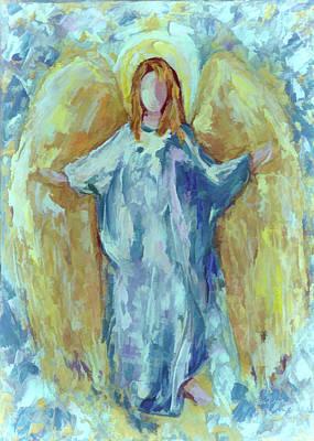 Digital Art - Angel Of Harmony by Lena  Owens OLena Art