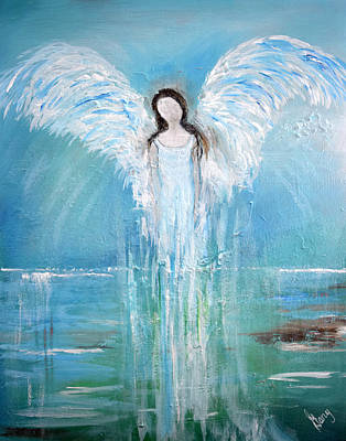 Painting - Angel Of His Nature by Gary Smith