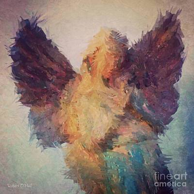 Angel Of Hope Art Print