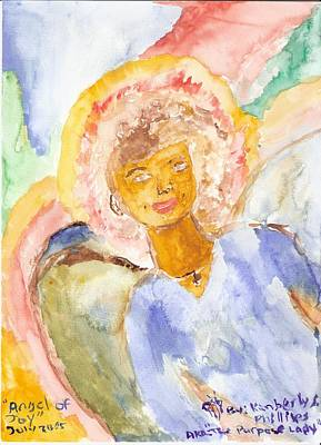 Angel Of Joy Art Print by Kimberly Ware